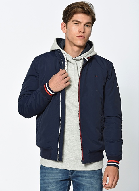 Tommy Hilfiger Bomber Mont Siyah